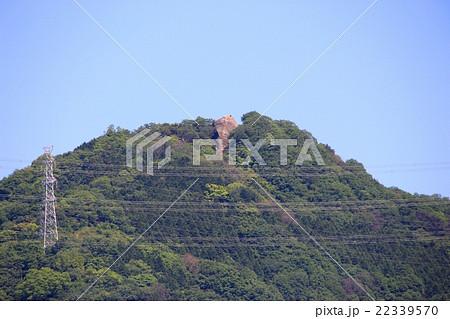 交野山の観音岩 22339570