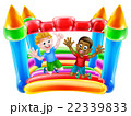 Kids Jumping on Bouncy Castle 22339833