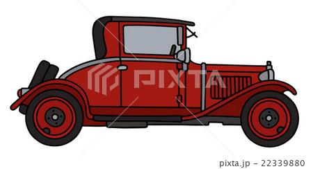 Vintage red coupeのイラスト素材 [22339880] - PIXTA