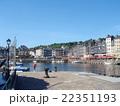 フランス オンフルーフの港町 22351193