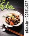 煮物 筑前煮 和食 にんじん たけのこ 椎茸 22351427