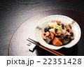 煮物 筑前煮 和食 にんじん たけのこ 椎茸 22351428