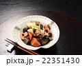 煮物 筑前煮 和食 にんじん たけのこ 椎茸 22351430