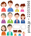 家族 人物 親子のイラスト 22353966