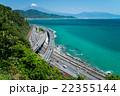 さった峠 初夏 駿河湾の写真 22355144