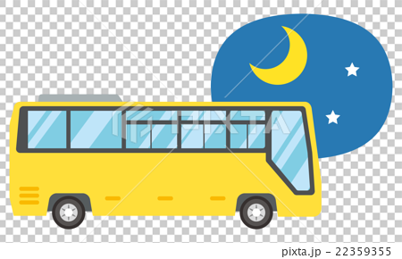 夜行バス【乗り物・シリーズ】 22359355