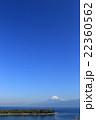 大瀬崎と富士 快晴 22360562