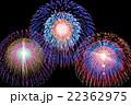 花火 花火大会 夏祭りの写真 22362975