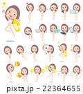 Long hair woman High neck bikini Swimwear style_2 22364655