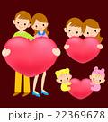 ファミリー 家庭 家族のイラスト 22369678