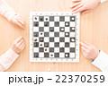 チェス 駒 ボードゲームの写真 22370259