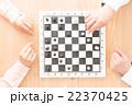 チェス 駒 ボードゲームの写真 22370425