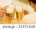 居酒屋で乾杯する若い男女 22371348
