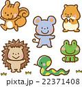 動物イラスト素材セット【小動物】 22371408