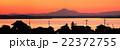 涸沼と筑波山 22372755