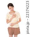 胸の痛み 22374223