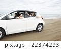 女性 海岸 砂浜の写真 22374293