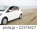 女性 3人 海岸の写真 22374427