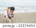 旅を楽しむ女性 22374454