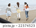 旅を楽しむ女性 22374523