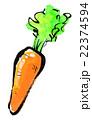 墨絵 挿絵 野菜のイラスト 22374594