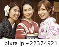 ポートレート 女性 3人の写真 22374921
