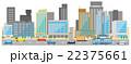 オフィス街 自動車 22375661