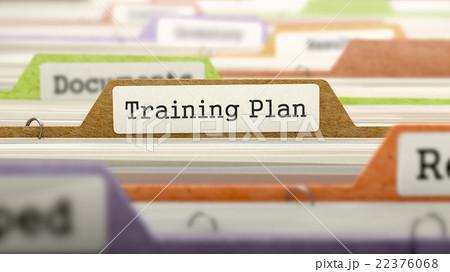 Training Plan Concept on Folder Register. 22376068