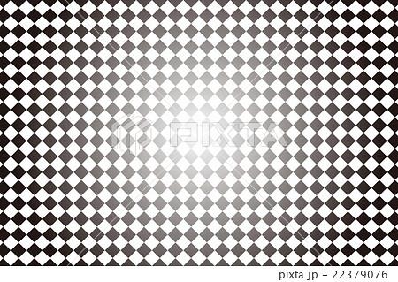 背景素材壁紙 チェック 格子柄 クロス 市松模様 ひし 菱形 ダイヤ 四角形 スクエア 二色 正方形のイラスト素材