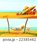 Summer Holiday Banners Set 22385462