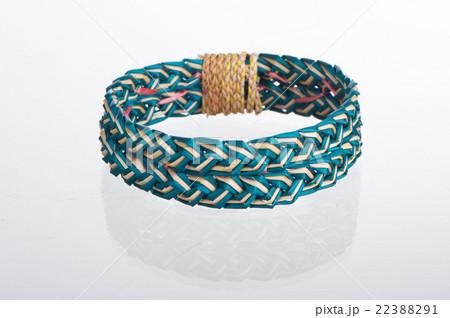 colorful dry natural grass braceletの写真素材 [22388291] - PIXTA