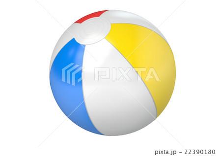 Beach Ball, 3D renderingのイラスト素材 [22390180] - PIXTA