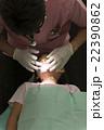 女の子 患者 治療の写真 22390862