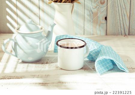 Morning cocoa cupの写真素材 [22391225] - PIXTA