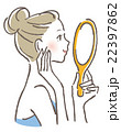 ベクター ビューティー 女性のイラスト 22397862
