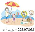 家族 夏 おでかけ 22397868