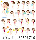 school girl sport Swimwear style 2 22398716