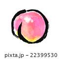 墨絵 果物 フルーツのイラスト 22399530