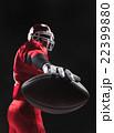アメリカンフットボール 選手 男の写真 22399880