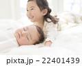 幼児 眠る 昼寝の写真 22401439