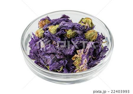 ブルーマロウのハーブティー  Blue marrow herb tea 22403993
