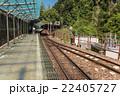 黒部峡谷鉄道 新緑の黒部峡谷 欅平駅 22405727