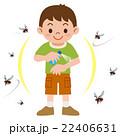 虫除け 蚊 虫除けスプレーのイラスト 22406631