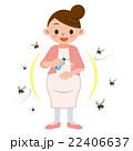虫除け 虫除けスプレー 妊婦のイラスト 22406637