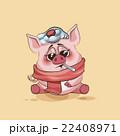 ベクトル キャラクター 文字のイラスト 22408971