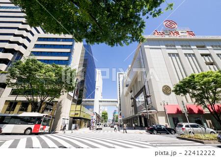 名古屋街並み 大津通り電気ビル前 スクランブル交差点 22412222