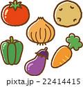 野菜イラスト素材セット 22414415