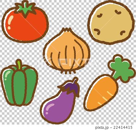 蔬菜 數字動畫 醫療插圖 22414415