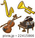 楽器イラスト素材セット2 22415866
