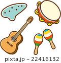 楽器イラスト素材セット1 22416132